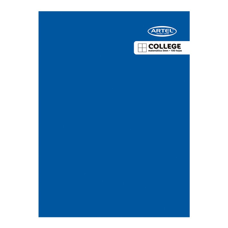 Cuaderno College  5mm 100hjs