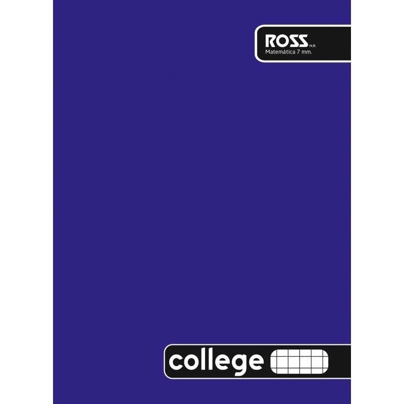 Cuaderno College Liso 7mm...